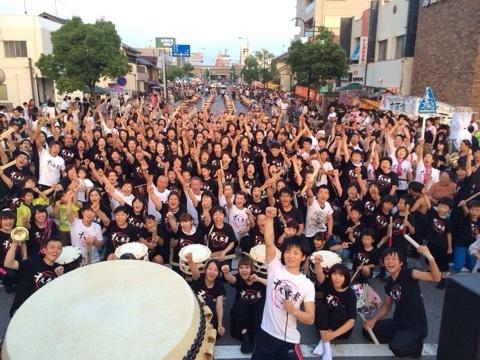 西尾祇園祭「六万石の響」